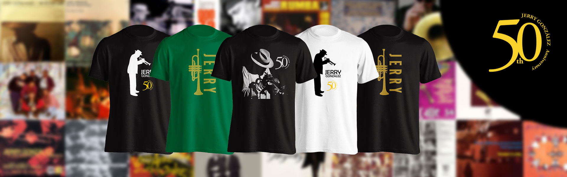 T-shirts 50th Anniversary
